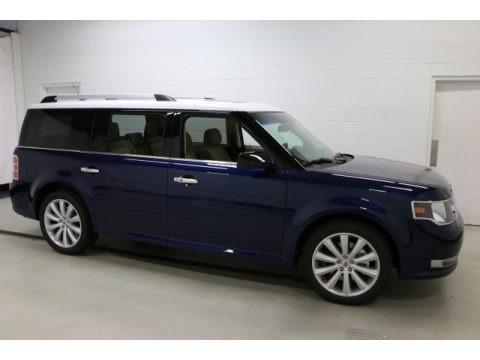 Kona Blue 2016 Ford Flex SEL AWD