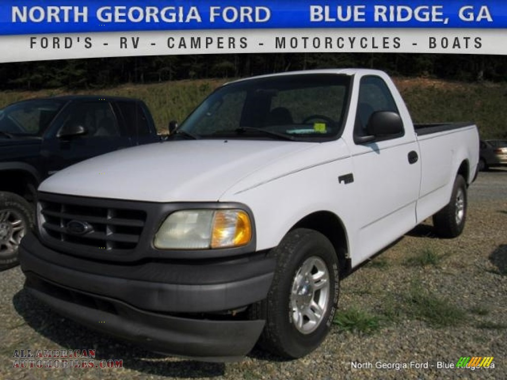 2002 ford f150 xl regular cab in oxford white b12612 all american automobiles buy american. Black Bedroom Furniture Sets. Home Design Ideas