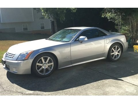 Light Platinum 2006 Cadillac XLR Roadster