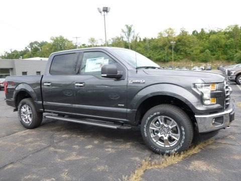Magnetic 2016 Ford F150 Lariat SuperCrew 4x4