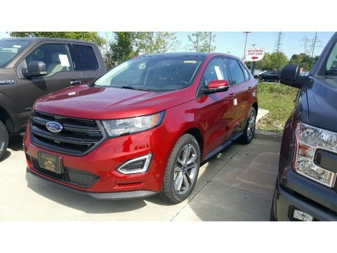 Ruby Red 2016 Ford Edge Sport AWD