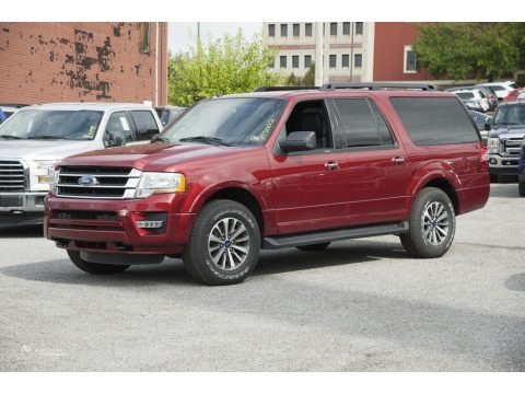 Ruby Red 2017 Ford Expedition EL XLT 4x4