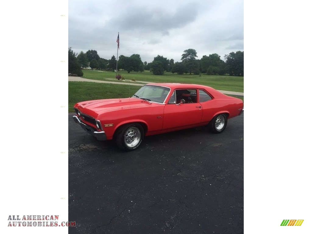 1972 Nova  - Viper Red / Black/Red photo #1