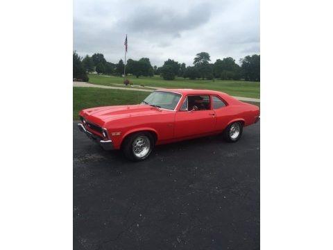 Viper Red 1972 Chevrolet Nova