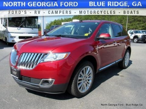 Ruby Red Metallic 2014 Lincoln MKX FWD