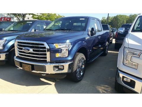 Blue Jeans 2016 Ford F150 XL SuperCab 4x4