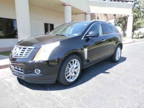 Black Ice Metallic 2013 Cadillac SRX Performance FWD