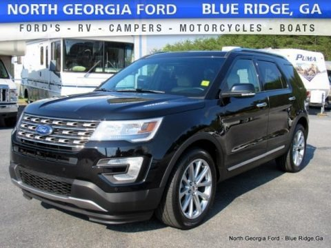 Shadow Black 2016 Ford Explorer Limited