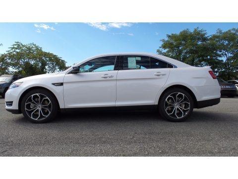 Oxford White 2016 Ford Taurus SHO AWD