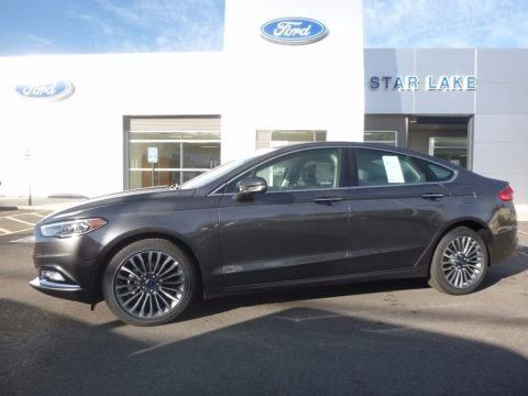 Magnetic 2017 Ford Fusion SE AWD