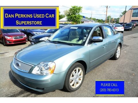 Titanium Green Metallic 2005 Ford Five Hundred Limited AWD