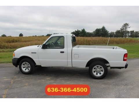 Oxford White 2011 Ford Ranger XL Regular Cab