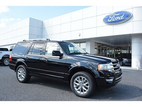 Shadow Black 2017 Ford Expedition Limited