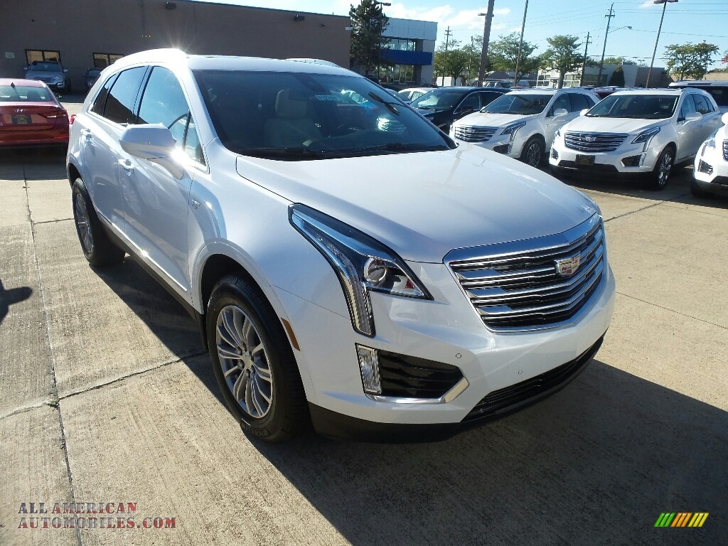 2017 cadillac xt5 luxury awd in crystal white tricoat 132774 all american automobiles buy. Black Bedroom Furniture Sets. Home Design Ideas