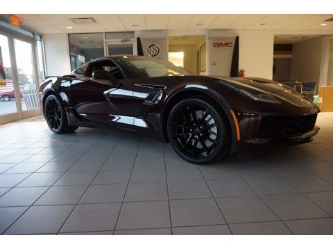 Black Rose Metallic 2017 Chevrolet Corvette Grand Sport Coupe