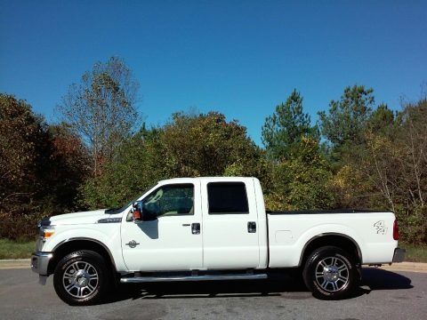 Oxford White 2012 Ford F250 Super Duty XLT Crew Cab 4x4