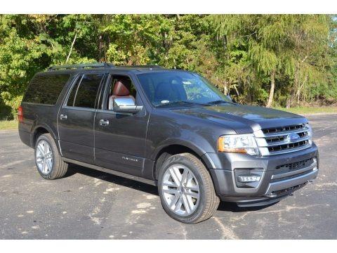 Magnetic 2017 Ford Expedition EL Platinum 4x4