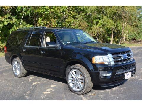 Shadow Black 2017 Ford Expedition EL Limited 4x4