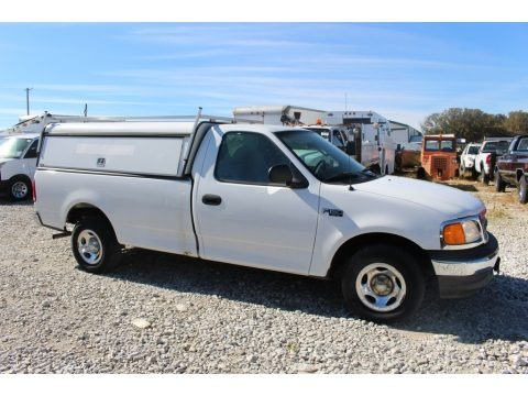 Oxford White 2004 Ford F150 XL Heritage Regular Cab