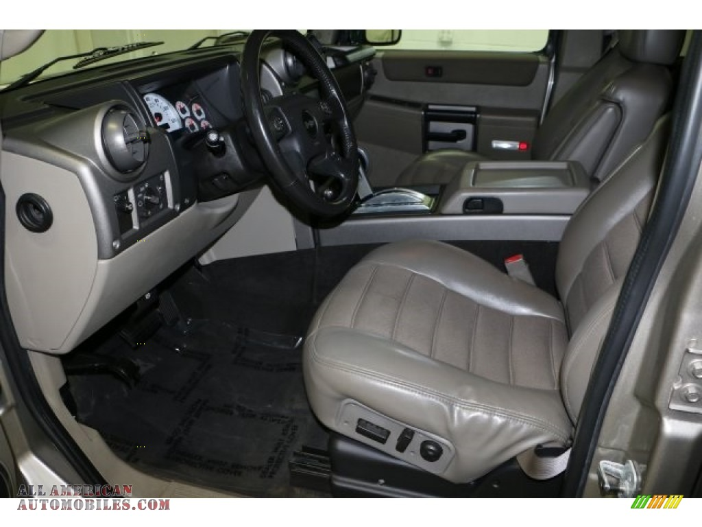 2004 H2 SUV - Pewter Metallic / Wheat photo #5