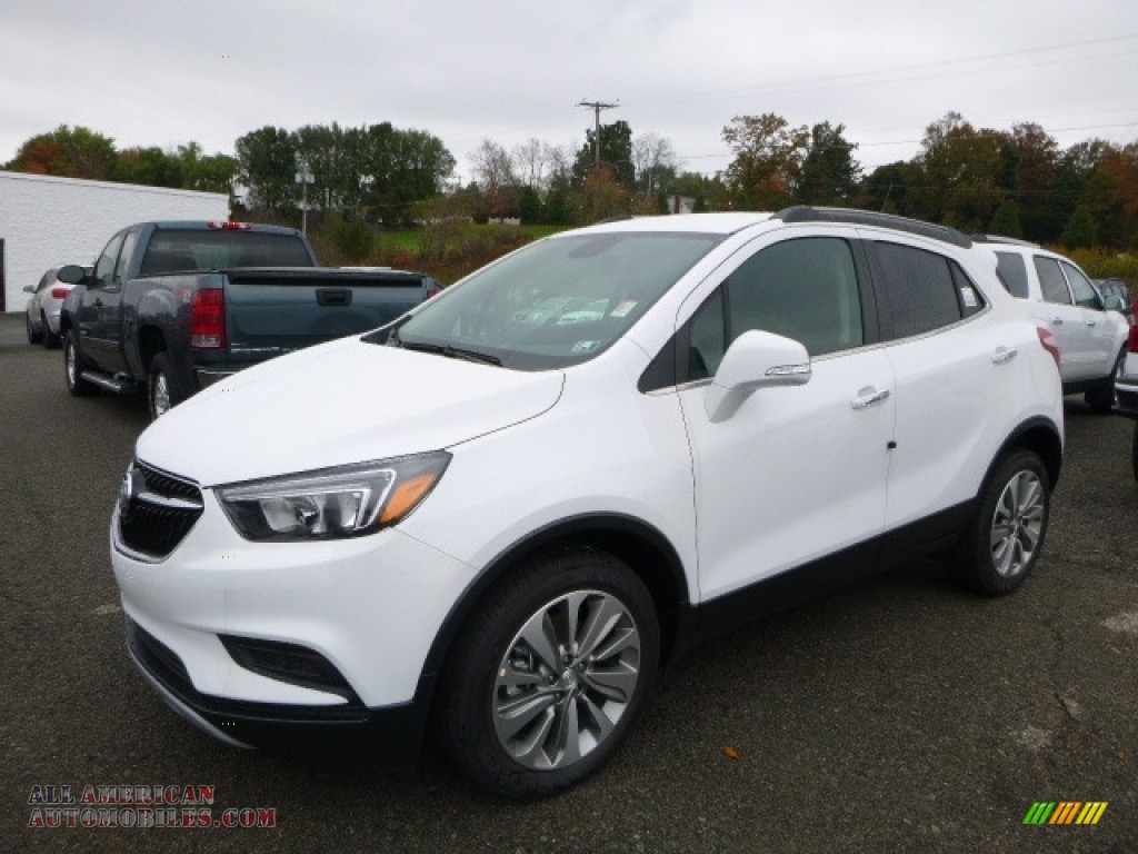 2017 buick encore preferred in summit white 004830 all american automobiles buy american. Black Bedroom Furniture Sets. Home Design Ideas