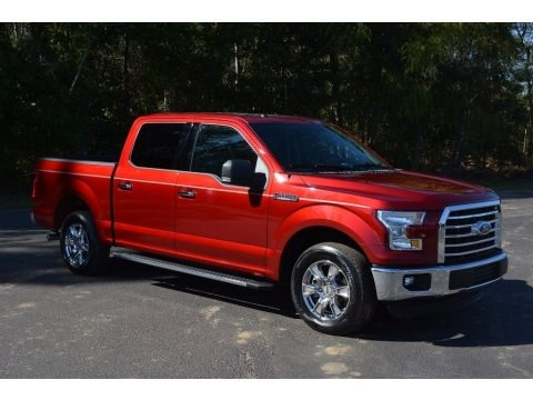 Ruby Red 2016 Ford F150 XLT SuperCrew