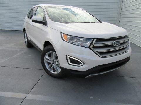 White Platinum 2016 Ford Edge SEL