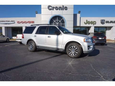 Ingot Silver Metallic 2015 Ford Expedition XLT