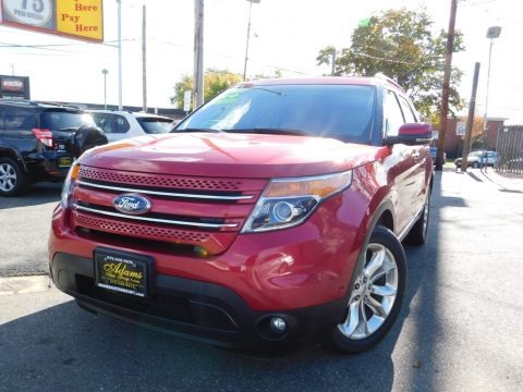 Red Candy Metallic 2012 Ford Explorer Limited 4WD