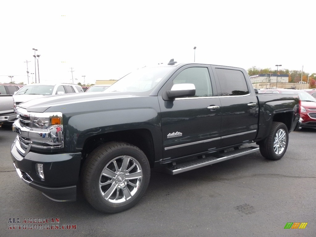 2017 chevrolet silverado 1500 high country crew cab 4x4 in graphite metallic 191197 all. Black Bedroom Furniture Sets. Home Design Ideas