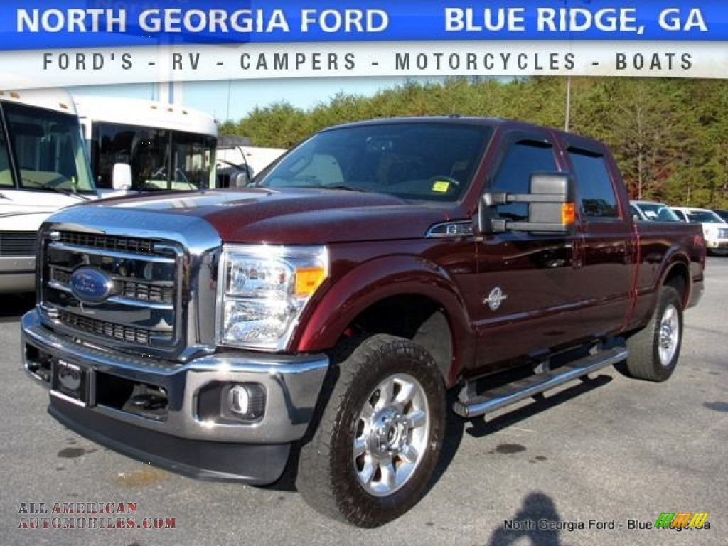 2016 ford f250 super duty lariat crew cab 4x4 in bronze fire metallic photo 4 a42011 all. Black Bedroom Furniture Sets. Home Design Ideas