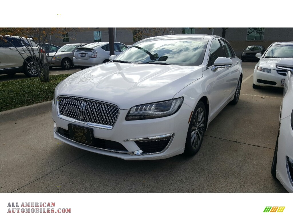 2017 lincoln mkz premier hybrid in white platinum 627881 all american automobiles buy. Black Bedroom Furniture Sets. Home Design Ideas