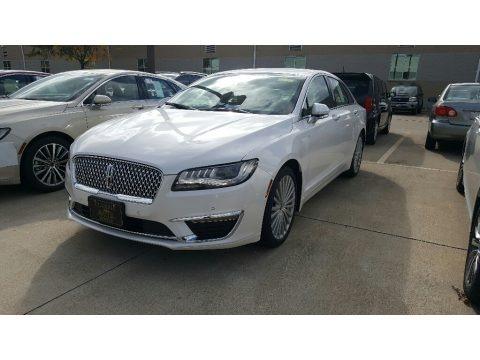White Platinum 2017 Lincoln MKZ Reserve