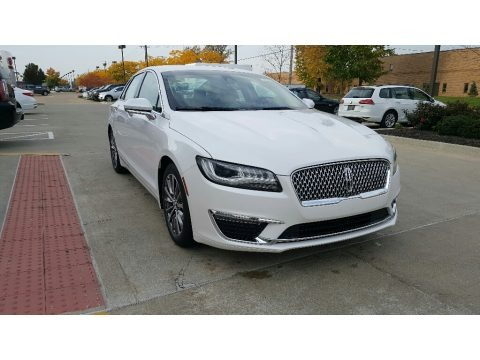 White Platinum 2017 Lincoln MKZ Select Hybrid