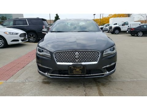 Magnetic Gray 2017 Lincoln MKZ Select AWD