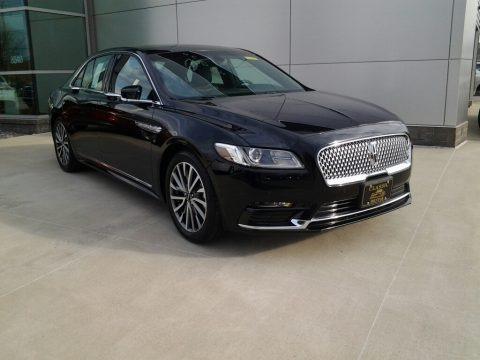 Black Velvet 2017 Lincoln Continental Select