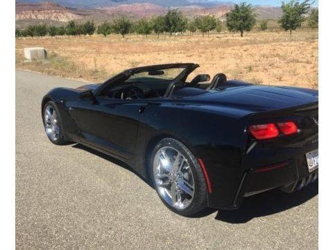 Black 2016 Chevrolet Corvette Stingray Convertible