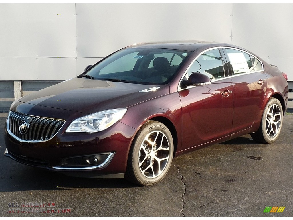 2017 buick regal sport touring in black cherry metallic 123111 all american automobiles. Black Bedroom Furniture Sets. Home Design Ideas