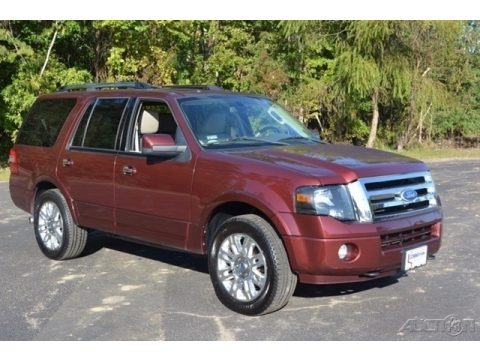 Royal Red Metallic 2011 Ford Expedition Limited 4x4