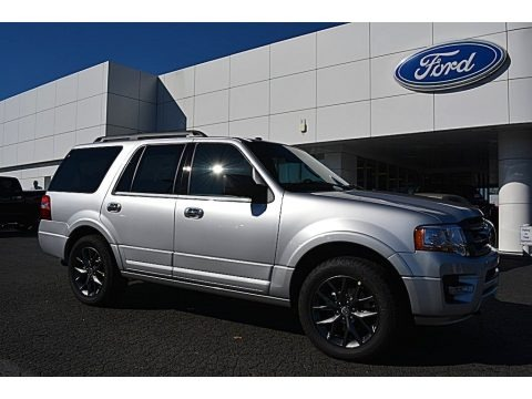 Ingot Silver 2017 Ford Expedition Limited 4x4