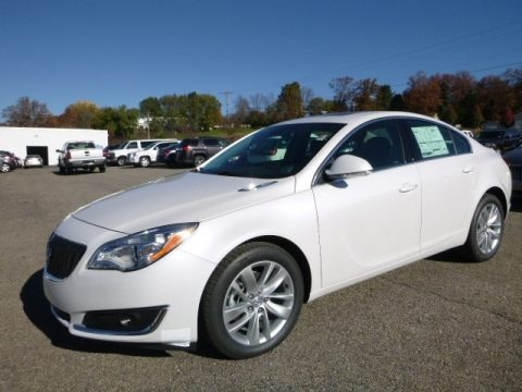 White Frost Tricoat 2017 Buick Regal AWD