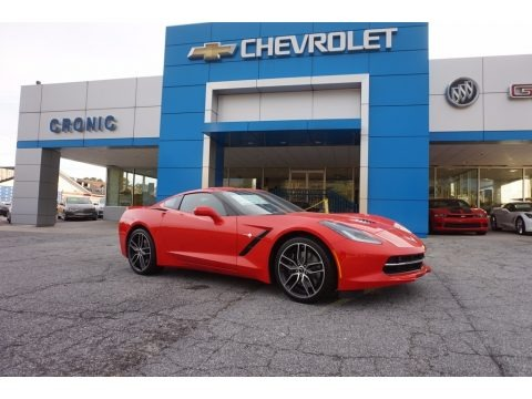 Torch Red 2017 Chevrolet Corvette Stingray Coupe