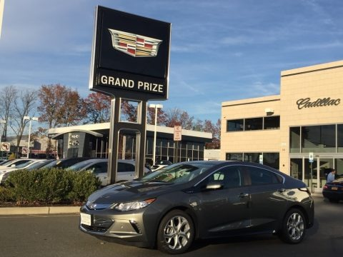 Heather Gray Metallic 2017 Chevrolet Volt Premier