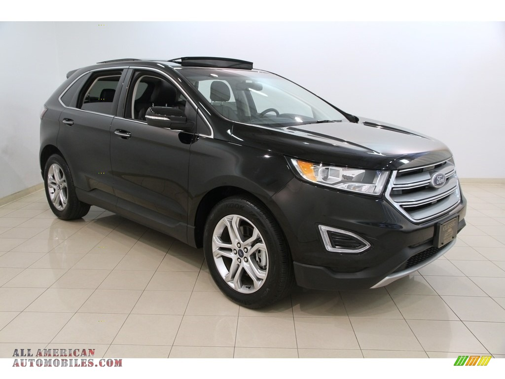 2016 ford edge titanium in shadow black b13044 all american automobiles buy american cars. Black Bedroom Furniture Sets. Home Design Ideas
