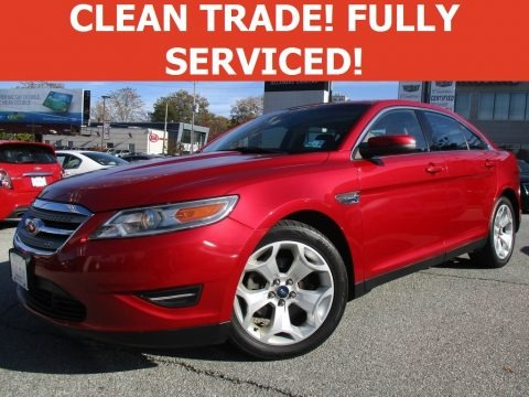 Red Candy 2011 Ford Taurus SEL AWD