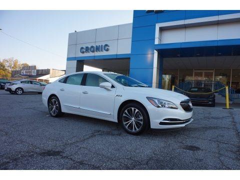 White Frost Tricoat 2017 Buick LaCrosse Preferred