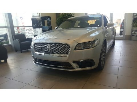 Ingot Silver 2017 Lincoln Continental Select