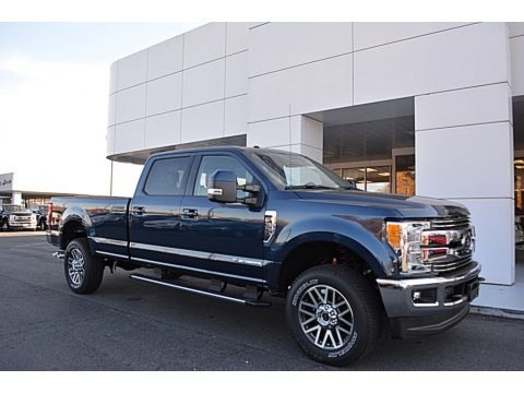 Blue Jeans 2017 Ford F350 Super Duty Lariat Crew Cab 4x4