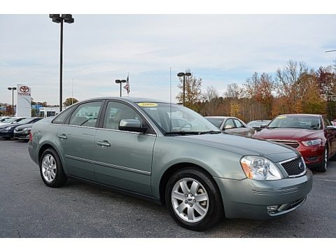 Titanium Green Metallic 2006 Ford Five Hundred SEL