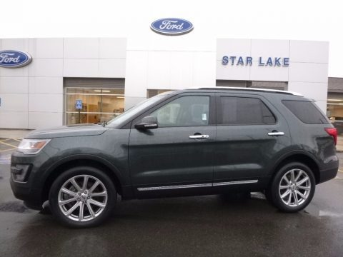 Guard Metallic 2016 Ford Explorer Limited 4WD